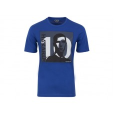 Men Chelsea #10 Eden Hazard Blue T-Shirt