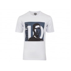 Men Chelsea #10 Eden Hazard White T-Shirt