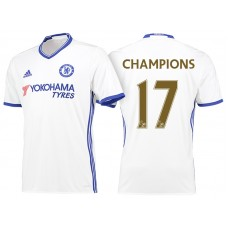 Chelsea 2016/17 #17 Champions White Away  Jersey
