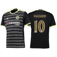 Chelsea 2016/17 #10 Eden Hazard Black Champions Away Jersey