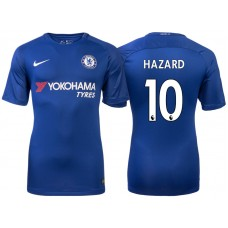 Chelsea 2017/18 Eden Hazard #10 Blue Home Jersey - Authentic
