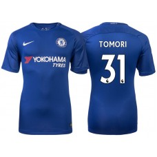 Chelsea 2017/18 Fikayo Tomori #31 Blue Home Jersey - Authentic