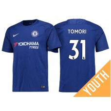 Youth - Chelsea 2017/18 Fikayo Tomori #31 Blue Home Jersey - Authentic
