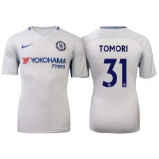 Chelsea 2017/18 Fikayo Tomori #31 White Away Jersey - Authentic