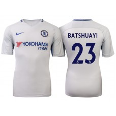 Chelsea 2017/18 Michy Batshuayi #23 White Away Jersey - Authentic