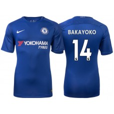 Chelsea 2017/18 Tiemoue Bakayoko #14 Blue Home Jersey - Authentic