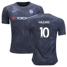 Chelsea 2017/18 Eden Hazard #10 Third Anthracite Camouflage Jersey - AUTHENTIC