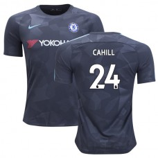 Chelsea 2017/18 Gary Cahill #24 Third Anthracite Camouflage Jersey - AUTHENTIC