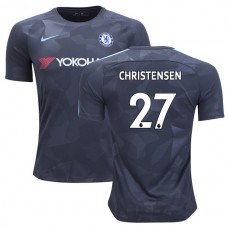 Chelsea 2017/18 Andreas Christensen #27 Third Anthracite Camouflage Jersey - AUTHENTIC