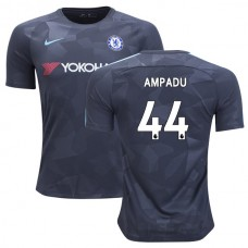 Chelsea 2017/18 Ethan Ampadu #44 Third Anthracite Camouflage Jersey - AUTHENTIC