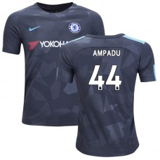 YOUTH - Chelsea 2017/18 Ethan Ampadu #44 Third Anthracite Camouflage Jersey - AUTHENTIC
