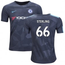 YOUTH - Chelsea 2017/18 Dujon Sterling #66 Third Anthracite Camouflage Jersey - AUTHENTIC