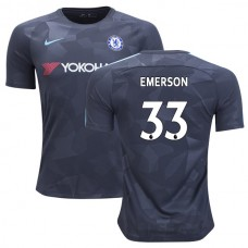 Chelsea 2017/18 Emerson Palmieri #33 Third Anthracite Camouflage Jersey - AUTHENTIC