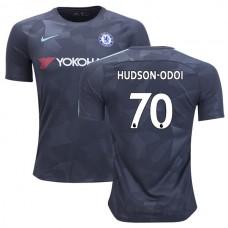 Chelsea 2017/18 Callum Hudson-Odoi #70 Third Anthracite Camouflage Jersey - AUTHENTIC