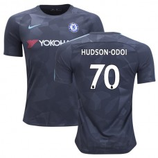 Chelsea 2017/18 Callum Hudson-Odoi #70 Third Anthracite Camouflage Jersey - REPLICA