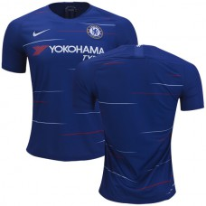 Chelsea 2018/19 Home Blue Authentic Jersey