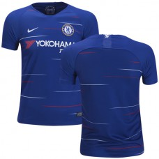 YOUTH Chelsea 2018/19 Home Blue Replica Jersey