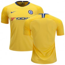 Chelsea 2018/19 Away Yellow Authentic Jersey