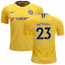 Chelsea #23 Michy Batshuayi Away Yellow Authentic Jersey 2018/19