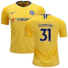 Chelsea #31 Fikayo Tomori Away Yellow Authentic Jersey 2018/19