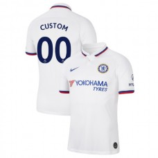 Chelsea #00 Custom White Away Authentic Jersey 2019/20