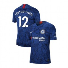Chelsea Stadium #12 Ruben Loftus-Cheek Blue Home Authentic Jersey 2019/20