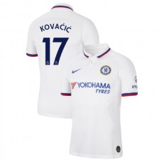 Chelsea #17 Mateo Kovacic White Away Authentic Jersey 2019/20