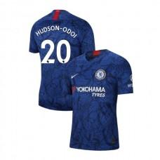Chelsea Stadium #20 Callum Hudson-Odoi Blue Home Authentic Jersey 2019/20