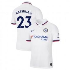 Chelsea #23 Michy Batshuayi White Away Authentic Jersey 2019/20