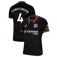 Chelsea #4 Andreas Christensen Black Third Authentic Jersey 2019/20