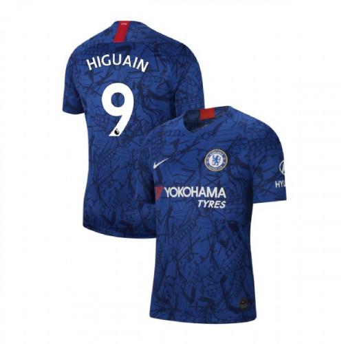 Chelsea Stadium #9 Gonzalo Higuain Blue Home Replica Jersey 2019/20