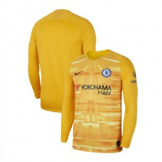Chelsea Goalkeeper Gold Authentic Jersey 2019/20
