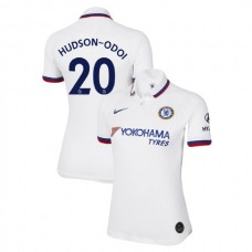 WOMEN'S Chelsea Away #20 Callum Hudson-Odoi White Authentic Jersey 2019/20