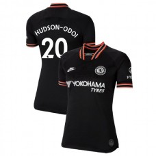 WOMEN'S Chelsea Third #20 Callum Hudson-Odoi Black Authentic Jersey 2019/20