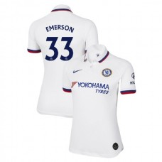 WOMEN'S Chelsea Away #33 Emerson White Authentic Jersey 2019/20