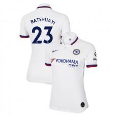 WOMEN'S Chelsea Away #23 Michy Batshuayi White Authentic Jersey 2019/20