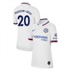 KIDS Chelsea Away #20 Callum Hudson-Odoi White Authentic Jersey 2019/20