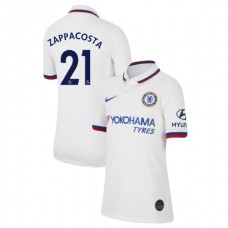 KIDS Chelsea Away #21 Davide Zappacosta White Authentic Jersey 2019/20