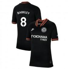 KIDS Chelsea Third #8 Ross Barkley Black Authentic Jersey 2019/20