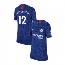 KIDS Chelsea Home Stadium #12 Ruben Loftus-Cheek Blue Authentic Jersey 2019/20
