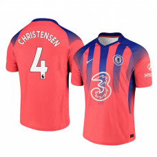 YOUTH - Chelsea 2020-21 Andreas Christensen Pinkish Third Authentic Jersey