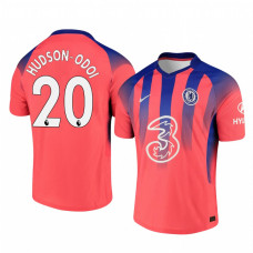 Chelsea 2020-21 Callum Hudson-Odoi Pinkish Third Authentic Jersey