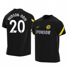 Chelsea 2021-22 Callum Hudson-Odoi Black Training Authentic Jersey