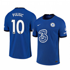 YOUTH - Chelsea 2020-2021 Christian Pulisic Blue Home Shades Blue Authentic Jersey