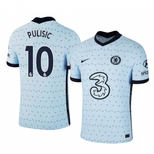 WOMEN - Chelsea 2020-2021 Christian Pulisic Pale Blue Away Replica Jersey