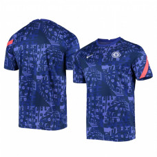 YOUTH - Chelsea 2020-21 Blue Pre-Match Replica Jersey