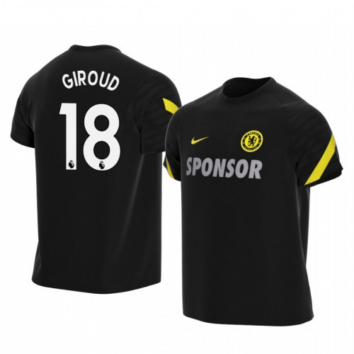 YOUTH - Chelsea 2021-22 Olivier Giroud Black Training Replica Jersey
