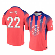 YOUTH - Chelsea 2020-21 Christian Pulisic Pinkish Third Authentic Jersey