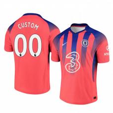 Custom WOMEN - Chelsea 2020-21 Pinkish Third Authentic Jersey