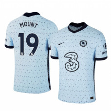 WOMEN - Chelsea 2020-21 Mason Mount Away Pale Blue Replica Jersey